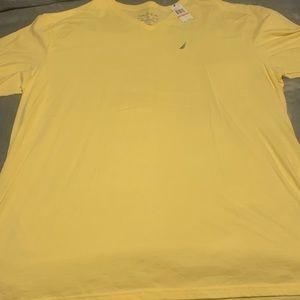 3x Nautica v neck t shirt